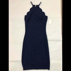 Charlotte Russe NWT Navy Blue Bodycon Dress